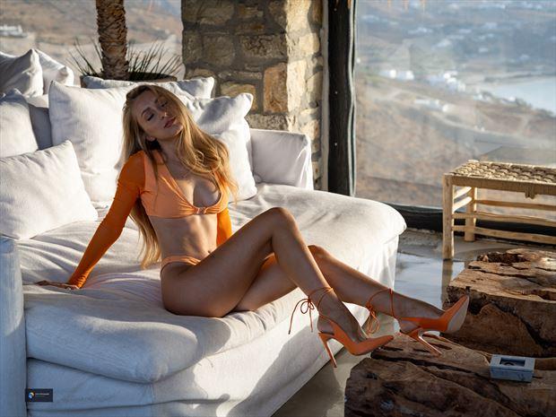 melina lingerie photo print by photographer acros photography