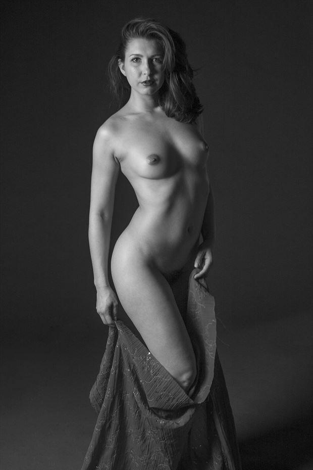 melissa undraped artistic nude artwork print by photographer tony avellino