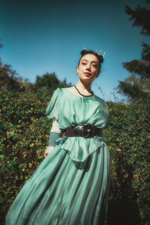 merprincess on land fashion photo print by model rebeccatun
