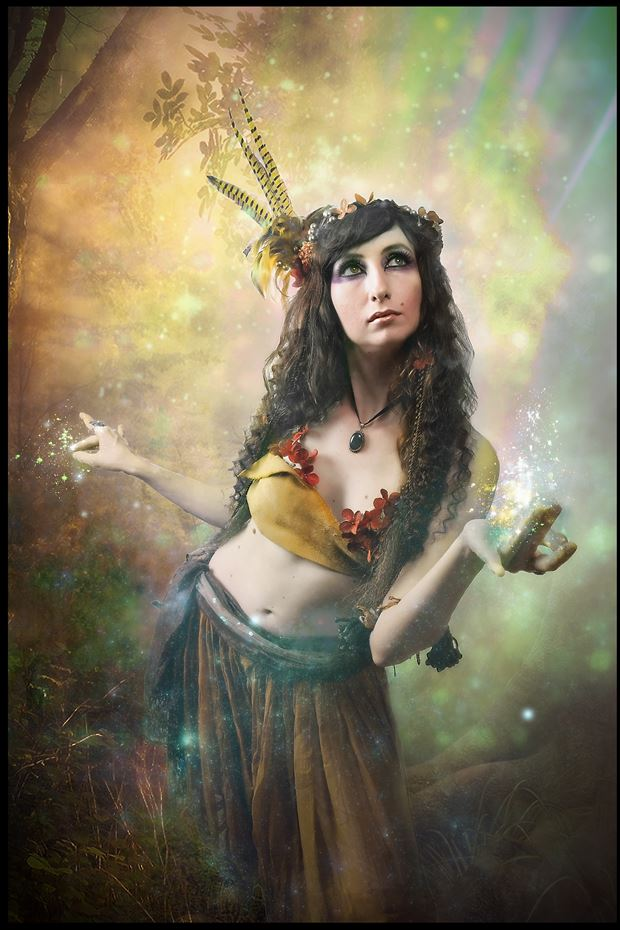 midsommer surreal photo print by photographer bilby