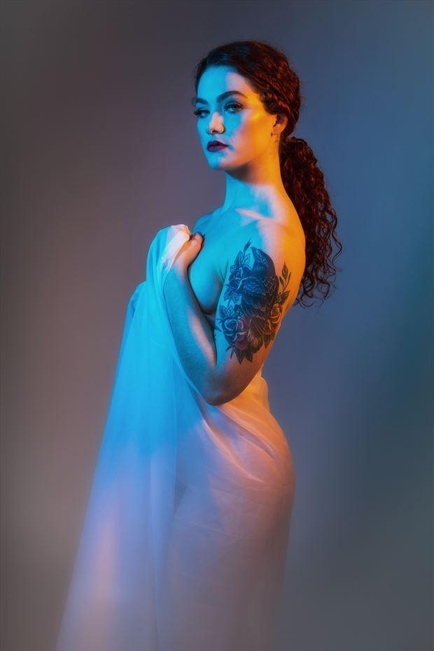 mirage artistic nude photo print by photographer ken greenhorn