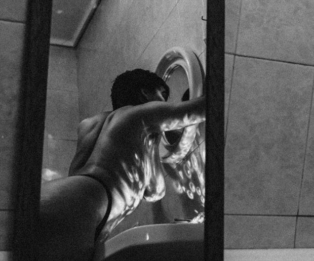 mirror mirror artistic nude photo print by artist raquel pereira