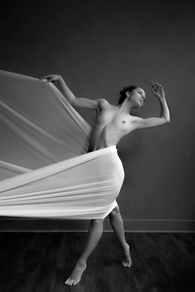moments of pleasure artistic nude photo print by photographer philip turner