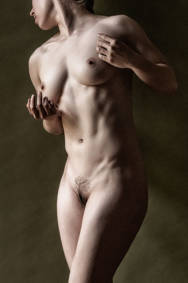 morning light poly artistic nude photo print by photographer rick jolson