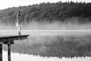 morning mist (2) Artistic Nude Photo print by Photographer Thomas Bichler