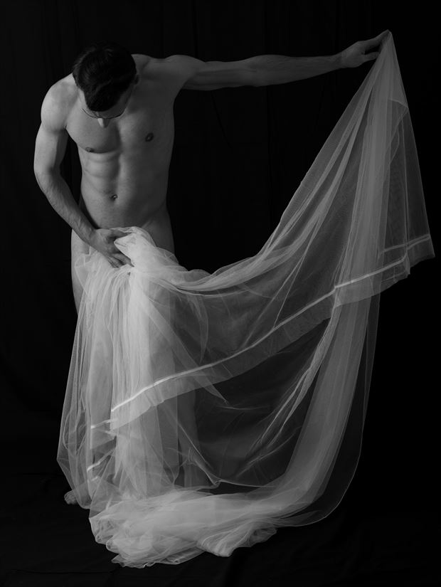 motion artistic nude photo print by model coma12
