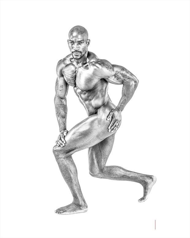 muscles i didn t know exist studio lighting photo print by photographer doclist