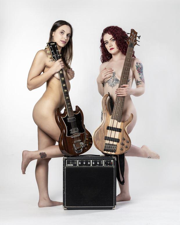 music artistic nude photo print by photographer ken greenhorn