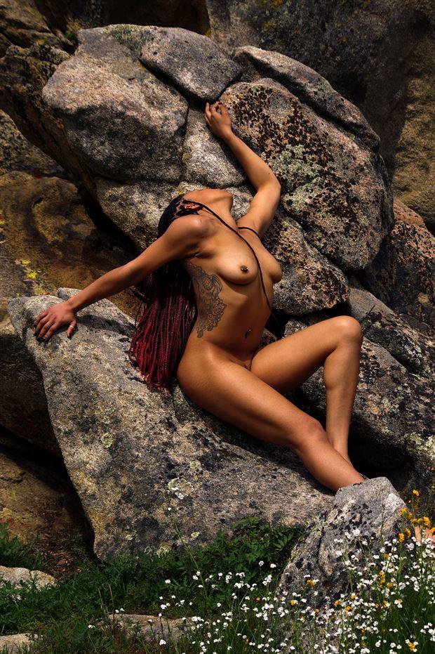 naja artistic nude photo print by photographer aephotography