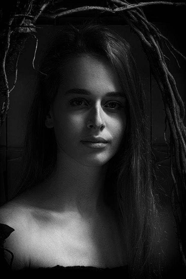 natural beauty portrait photo print by photographer peter van zwol