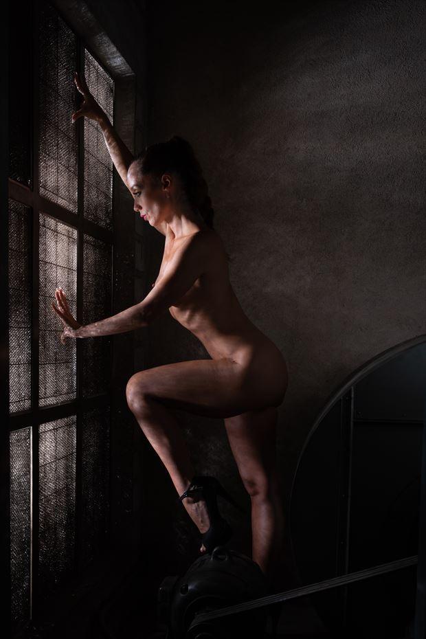near the window artistic nude photo print by photographer arcis
