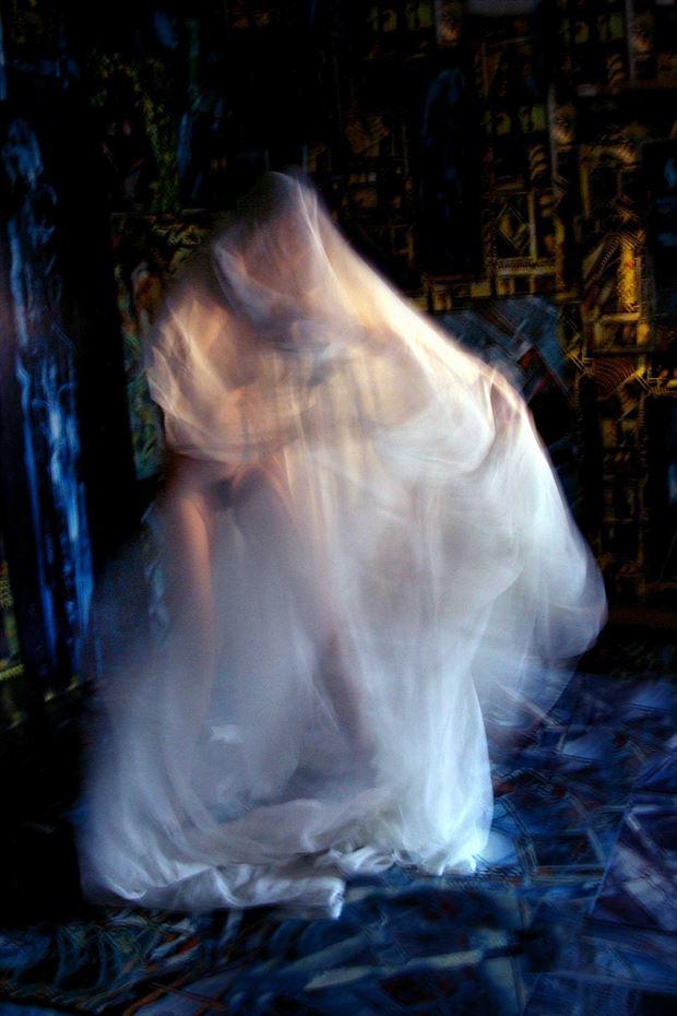 nigth in the joseph auquier atelier artistic nude photo print by photographer joseph auquier
