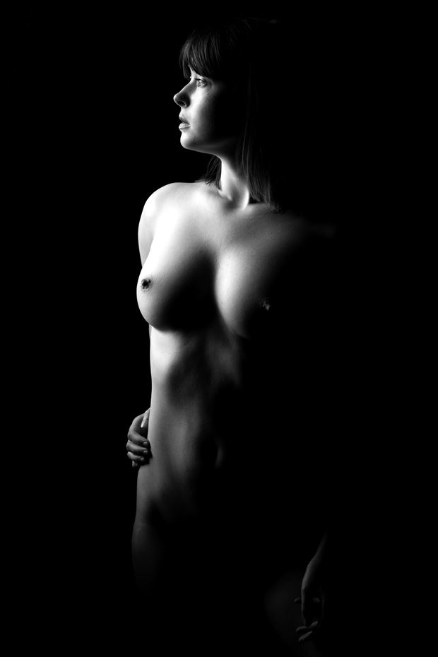 noel artistic nude photo print by photographer depa kote