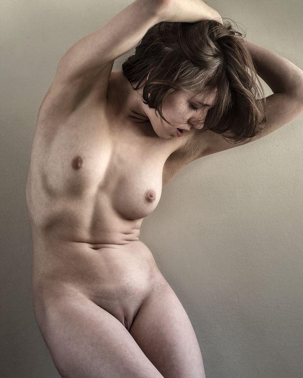 north bedroom window 2 artistic nude photo print by photographer rick jolson