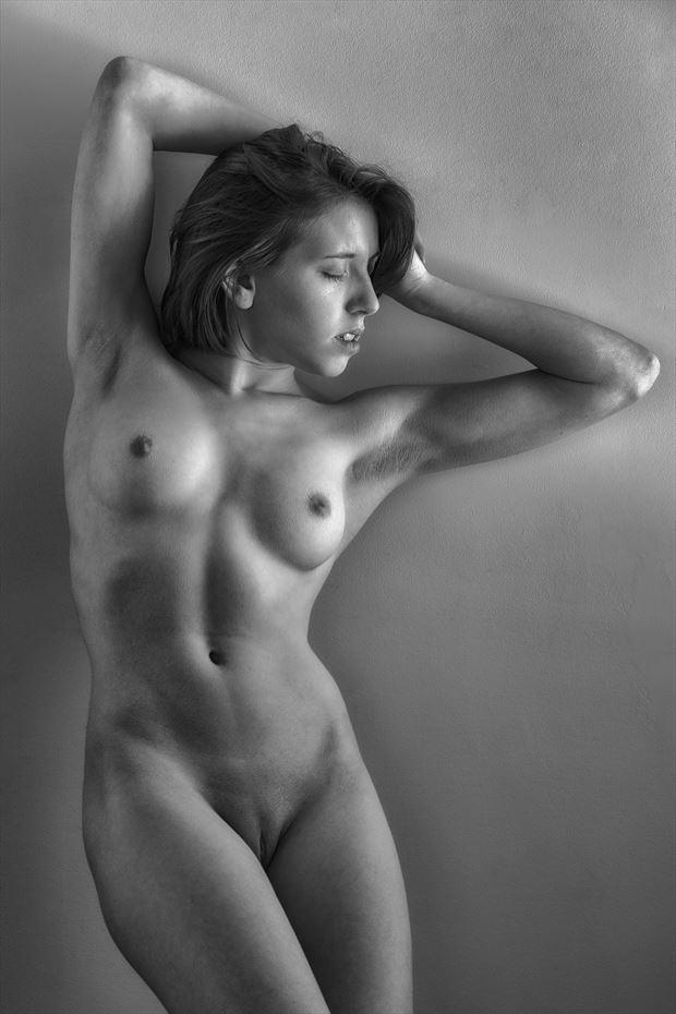 north bedroom window artistic nude photo print by photographer rick jolson