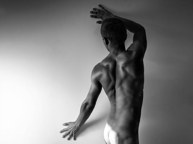 nude male body artistic nude photo print by photographer oliwier r