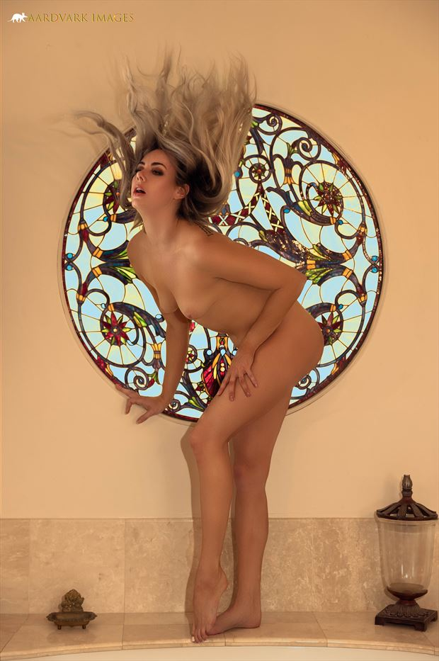 nude mosaic no 2 artistic nude photo print by model alexandra queen