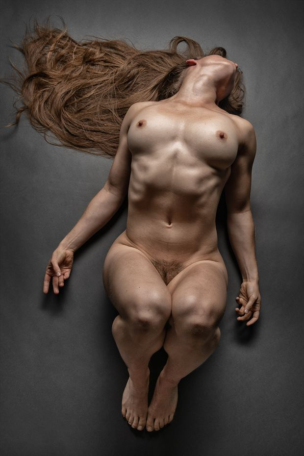 oh that hair artistic nude photo print by photographer rick jolson