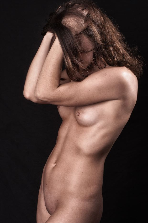 oh those abs artistic nude photo print by photographer rick jolson