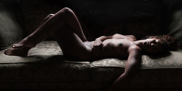 once upon a time artistic nude photo print by photographer garden of the muses
