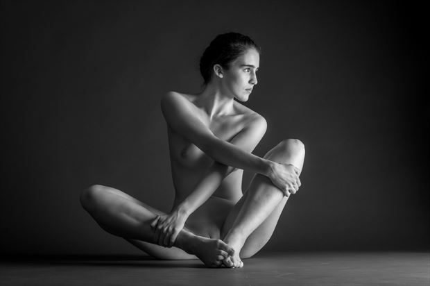 one light sessions artistic nude photo print by photographer gunnar