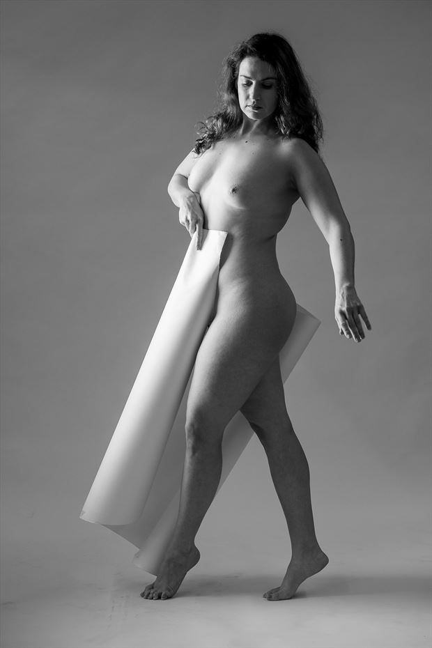 paper artistic nude photo print by photographer ericr