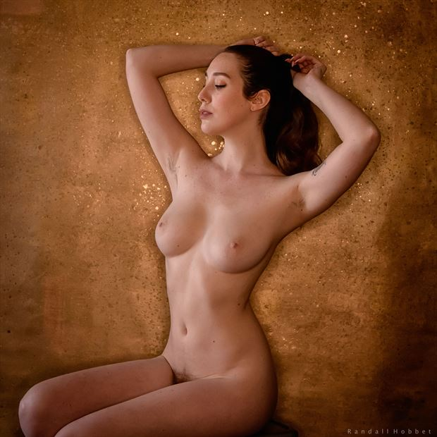 paris prize artistic nude photo print by photographer randall hobbet