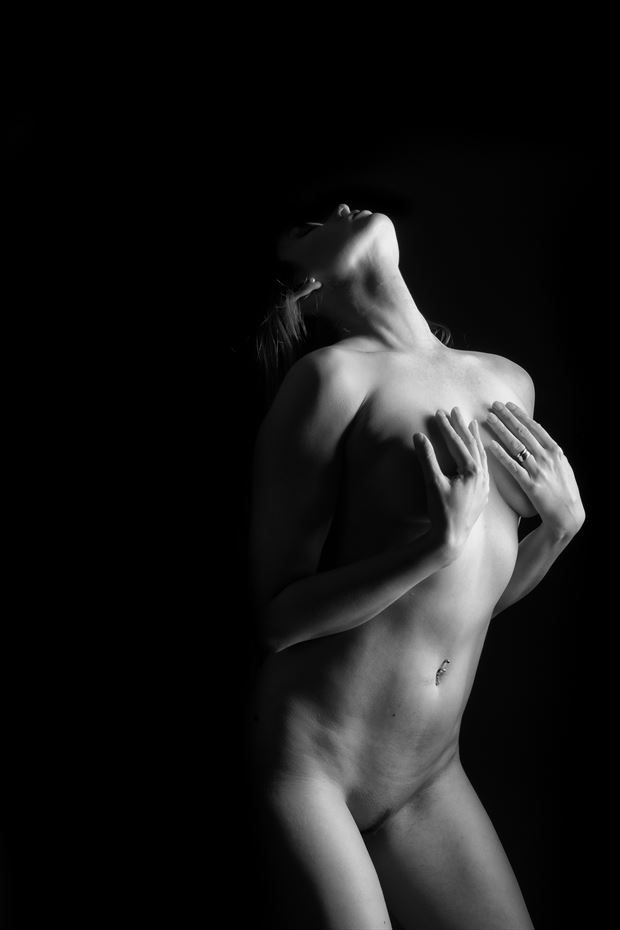 passion artistic nude photo print by photographer colin dixon