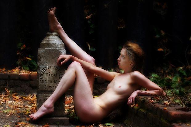 patient nonchalance artistic nude photo print by photographer subversive visions