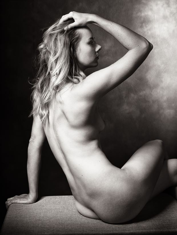 perfection artistic nude photo print by model alexandra queen