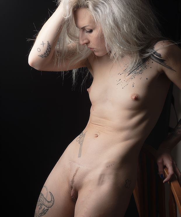 pip artistic nude photo print by photographer glossypinklipstick