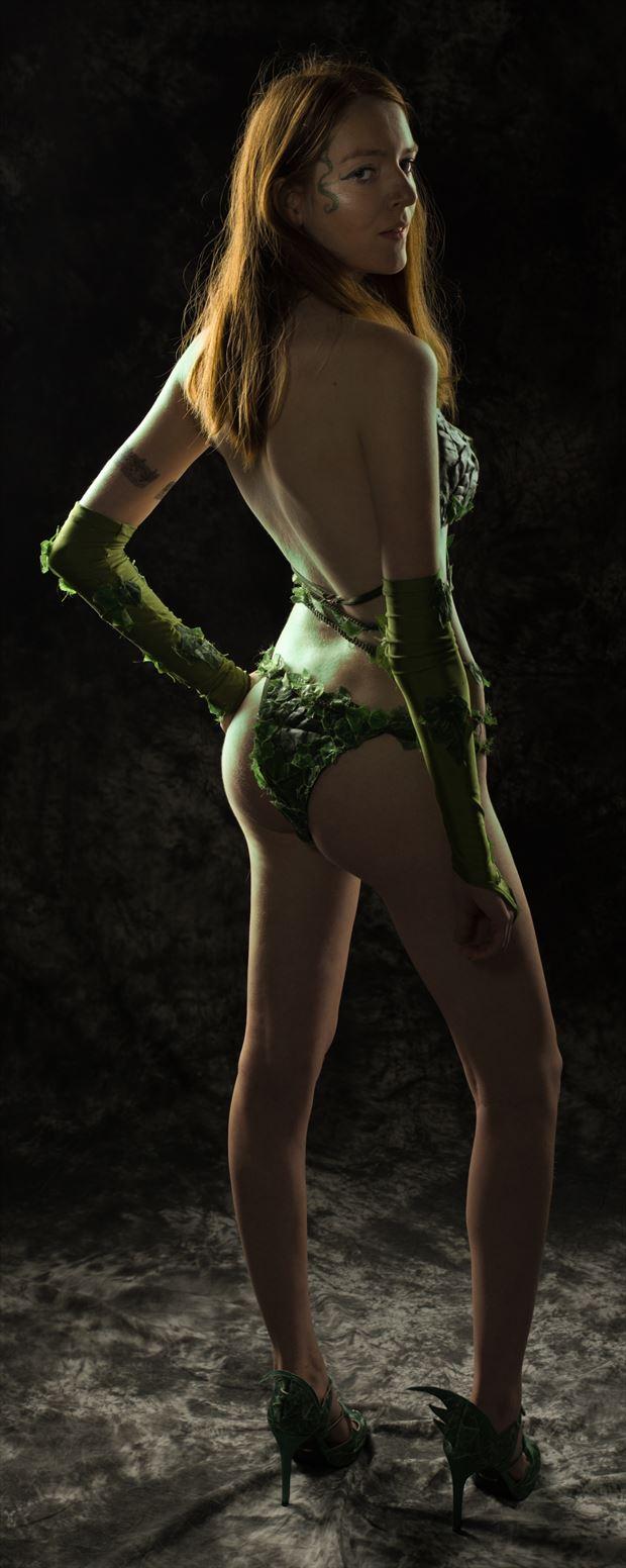 poison ivy lingerie photo print by photographer jim setzer