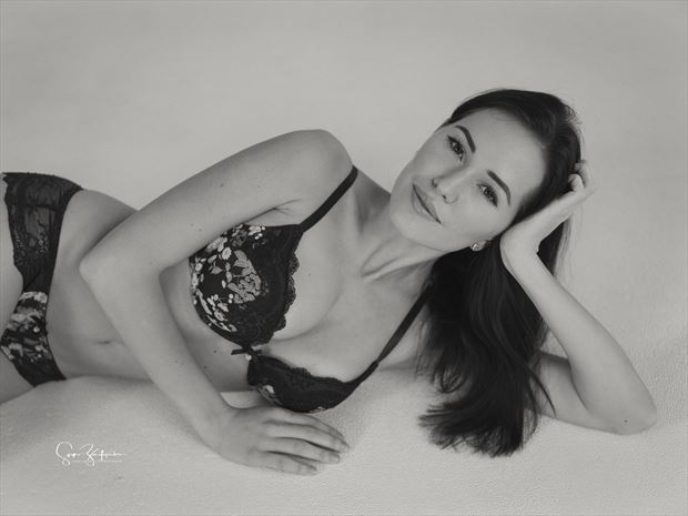 polina lingerie photo print by photographer acros photography
