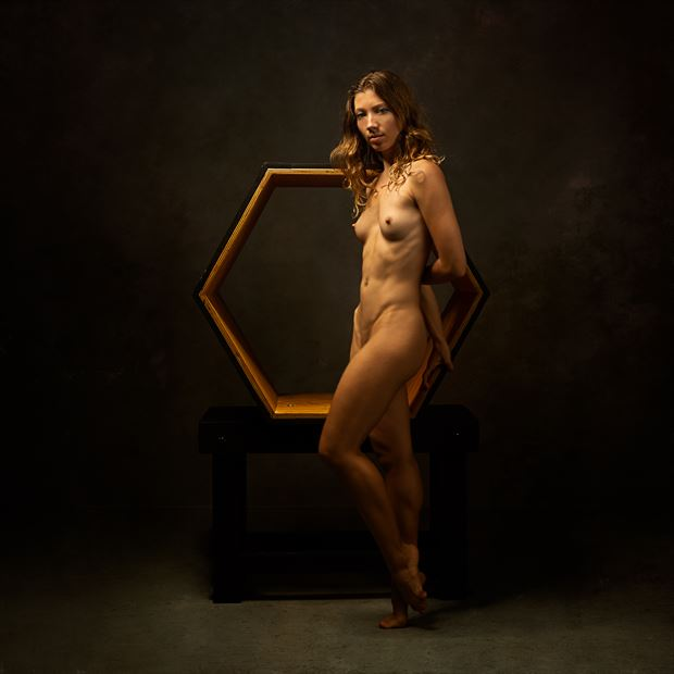 poppyseed dancer at the hexagon artistic nude photo print by photographer doc list