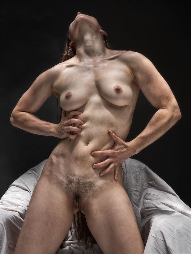 porch series 2 artistic nude photo print by photographer rick jolson