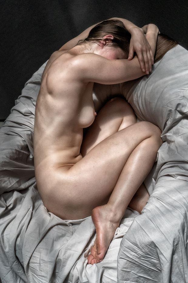 porch series 4 artistic nude photo print by photographer rick jolson