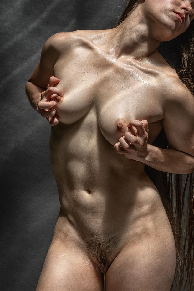 porch series 5 poly artistic nude photo print by photographer rick jolson