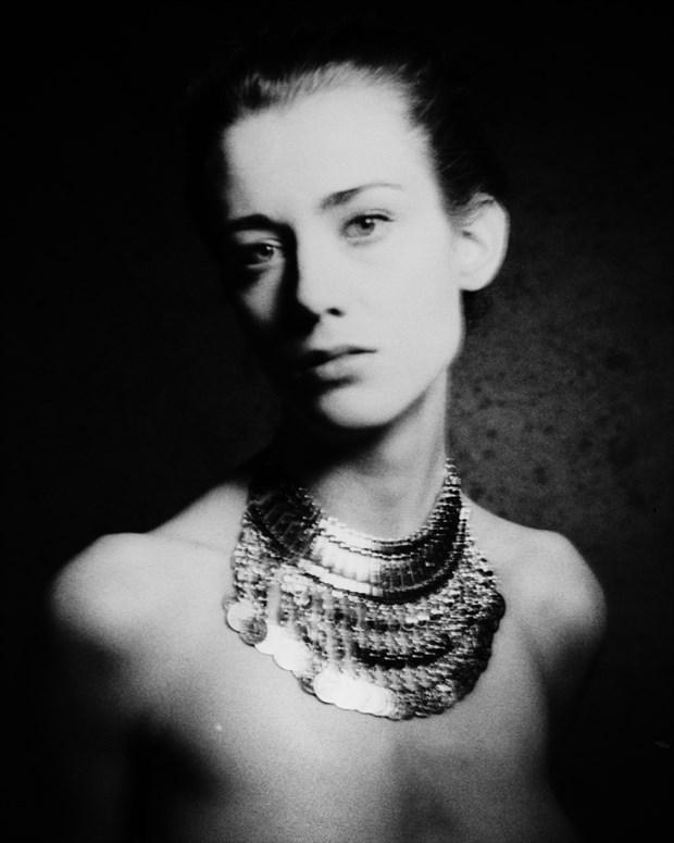 portrait of a muse Sensual Artwork print by Photographer marcvonmartial