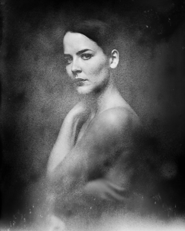 portrait of a muse Studio Lighting Artwork print by Photographer marcvonmartial