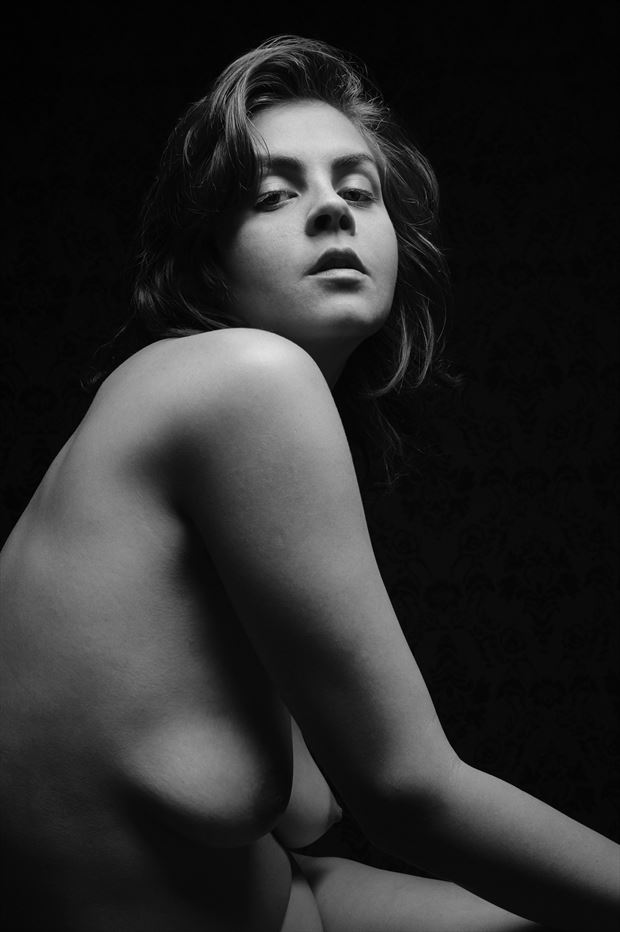 portrait of helen 1 artistic nude photo print by photographer thebody photography