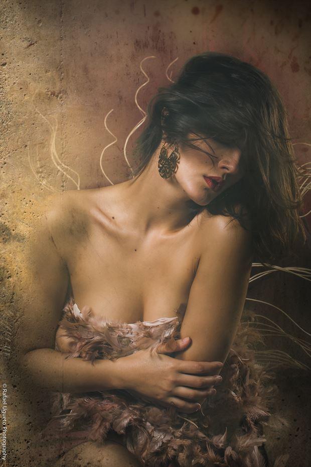 portrait sensual photo print by photographer rafael ugueto photography