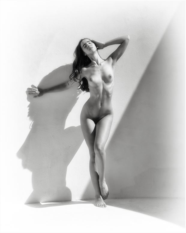 queen s gambit artistic nude photo print by photographer randall hobbet