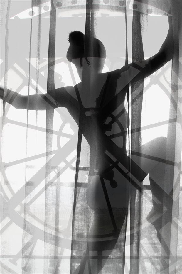 quelle heure est il chiaroscuro photo print by photographer pblieden