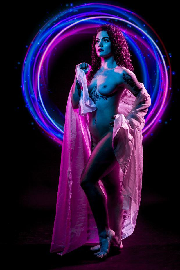 rachel gelled 2 artistic nude photo print by photographer ken greenhorn