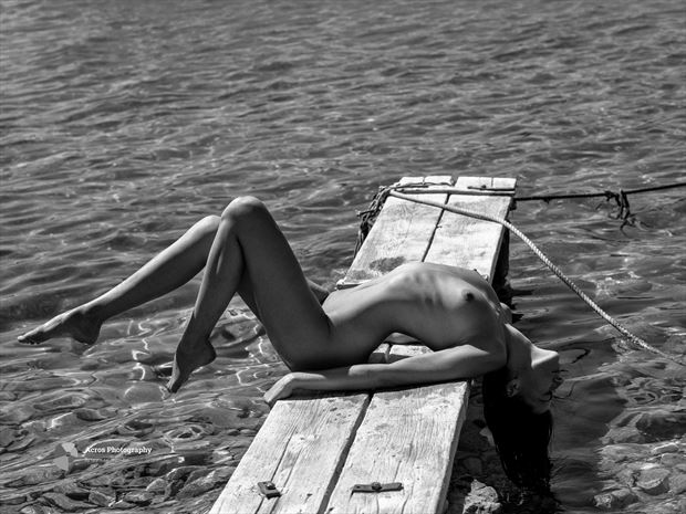 rebecca artistic nude photo print by photographer acros photography