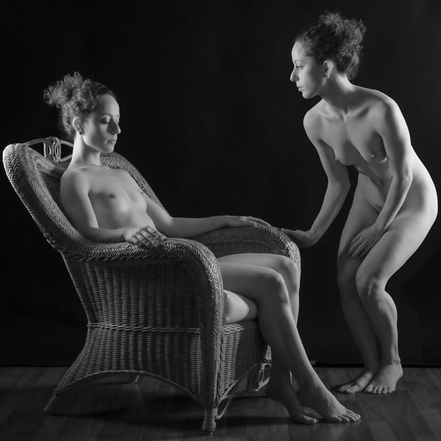 reflection 2 artistic nude photo print by photographer gpstack