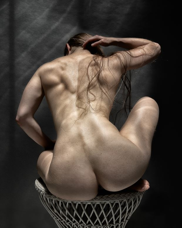 ripped artistic nude photo print by photographer rick jolson