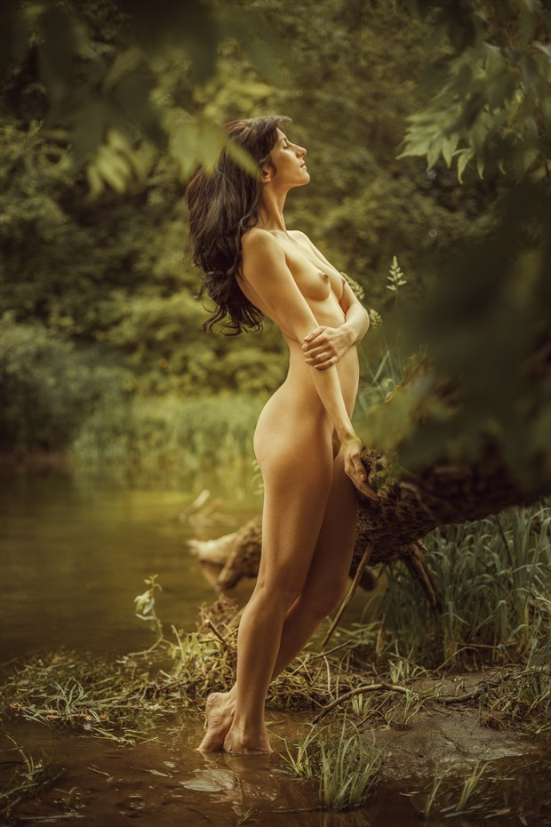 river nymph Artistic Nude Photo print by Photographer dml
