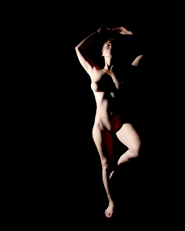 rosie artistic nude photo print by photographer pblieden