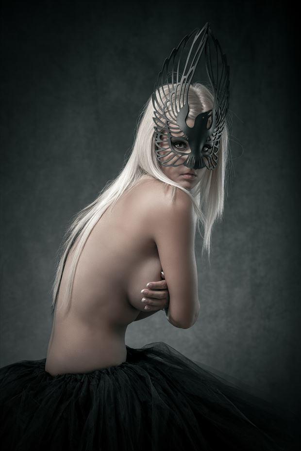 rylan studio lighting photo print by photographer perry van dongen